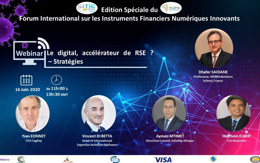 SPECIAL EDITION  FORUM APTBEF  « TOWARDS THE NEW DIGITAL FINANCIAL SOLUTIONS »